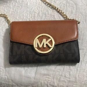 Michael Kors logo crossbody belt bag rare!